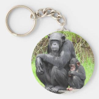 Porte-clés de chimpanzé