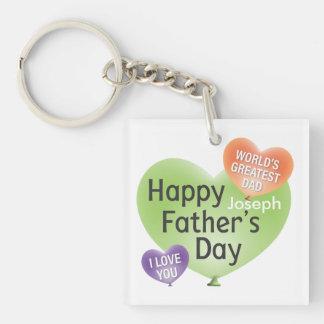 Porte-clés de fête des pères