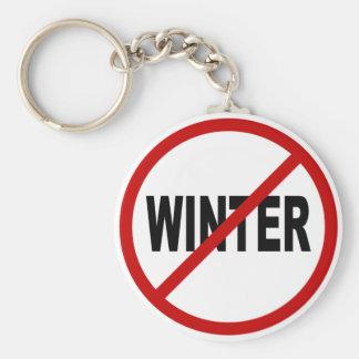 Porte-clés Déclaration de signe permise par hiver de la haine