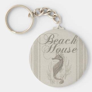 Porte-clés Décor côtier de Sandy d'hippocampe de Chambre de