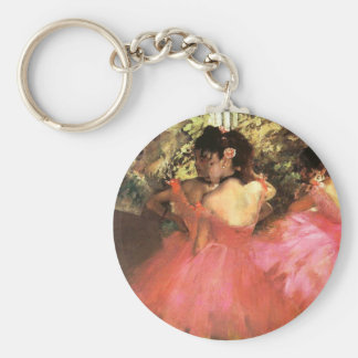 Porte-clés Dégazez les danseurs dans le porte - clé rose