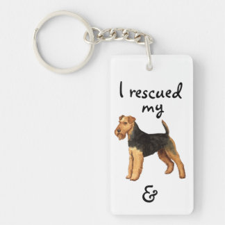 Porte-clés Délivrance de gallois Terrier