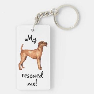 Porte-clés Délivrance Terrier irlandais