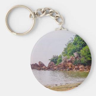 Porte-clés des roches plus rouges du Fiji