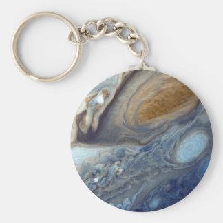 Porte-clés Détail tache rouge de l'atmosphère de Jupiter de