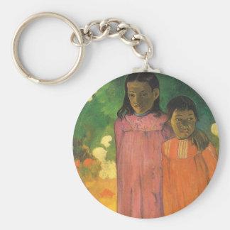 Porte-clés Deux soeurs par Paul Gauguin, impressionisme