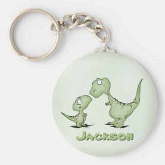 Porte-clés Dinosaures personnalisés