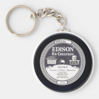 Porte-clés Disque de récréation d'EDISON