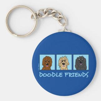 Porte-clés Doodle Friends