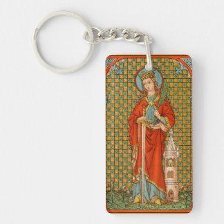 Porte-clés Double image de St Barbara (JP 01)