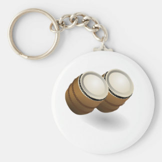 Porte-clés Double porte - clé de bongos