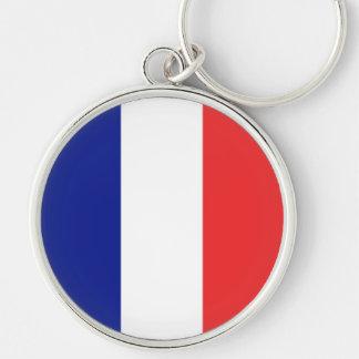Porte-clés Drapeau de Français Tricolore de la France