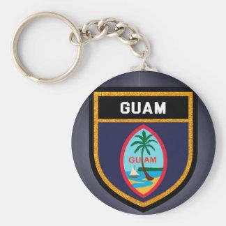 Porte-clés Drapeau de la Guam