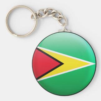 Porte-clés Drapeau de la Guyane