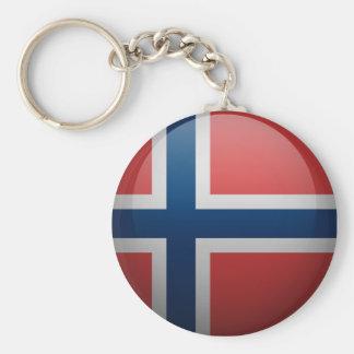 Porte-clés Drapeau de la Norvège