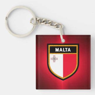 Porte-clés Drapeau de Malte