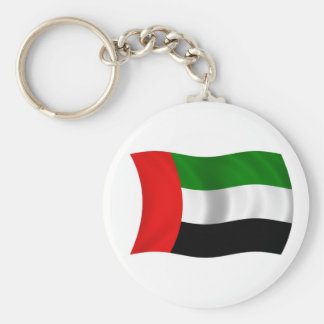Porte-clés Drapeau de ondulation des EAU