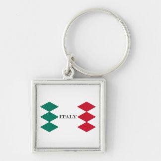 Porte-clés Drapeau d'Italien de l'Italie Italie