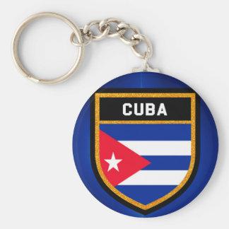 Porte-clés Drapeau du Cuba