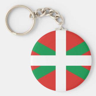 Porte-clés Drapeau du porte - clé Basque de pays
