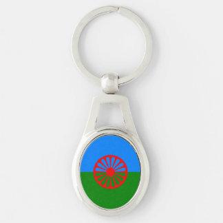 Porte-clés Drapeau gitan bohémien officiel