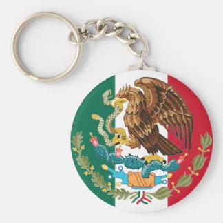 Porte-clés Drapeau mexicain et manteau de porte - clé