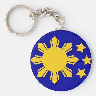 Porte-clés Drapeau philippin - fier d'être Pinoy !