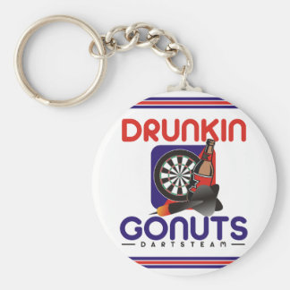 Porte-clés Drunkin vont équipe de dards d'écrous