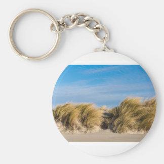 Porte-clés Dune sur la plage de la mer baltique