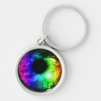 Porte-clés Éclaboussure de porte - clé de globe oculaire de