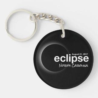 Porte-clés Éclipse solaire totale 2017 - la Caroline du Nord