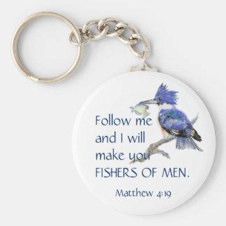 Porte-clés Écriture sainte, Fisher des hommes, citation
