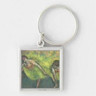 Porte-clés Edgar Degas   détente de deux danseurs