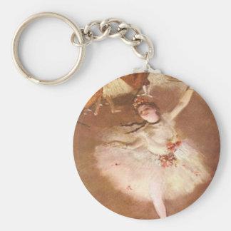 Porte-clés Edgar Degas le porte - clé d'étoile
