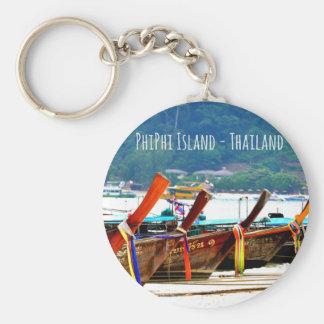 Porte-clés Édition de carte postale de Phiphiisland
