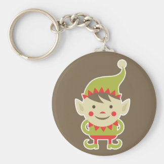 Porte-clés Elf de Père Noël