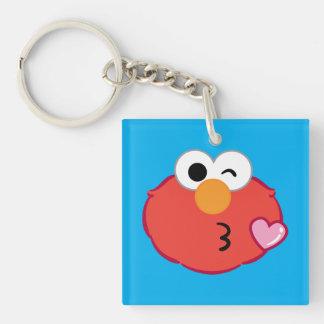 Porte-clés Elmo font face à jeter un baiser