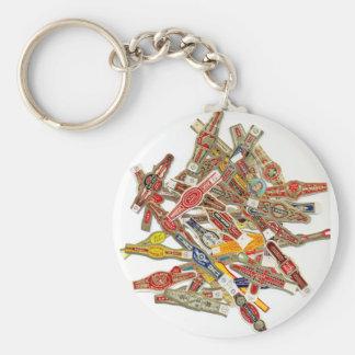 Porte-clés Emballages d'anneau de cigare