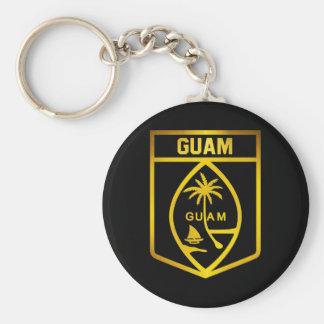 Porte-clés Emblème de la Guam