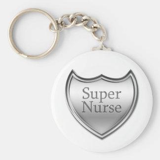 Porte-clés Emblème superbe d'infirmière