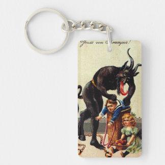 Porte-clés Enfants de Krampus dans Noël de vacances de Noël