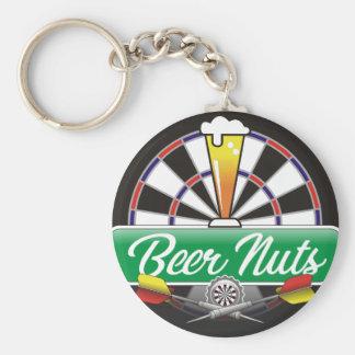 Porte-clés Équipe de dards d'écrous de bière