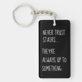Porte-clés Escaliers sournois