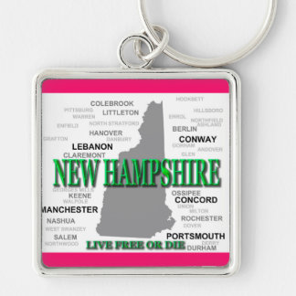 Porte-clés État du New Hampshire