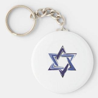 Porte-clés Étoile de David