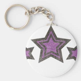 Porte-clés étoile de star