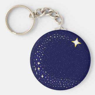 Porte-clés Étoile filante