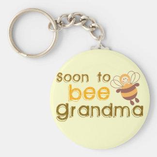 Porte-clés Être bientôt grand-maman