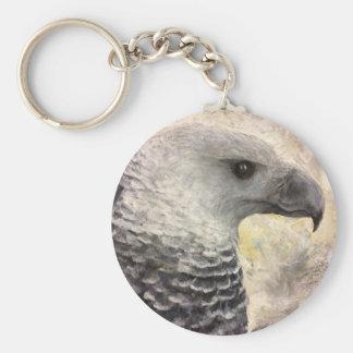 Porte-clés Étude d'Eagle de harpie en acrylique