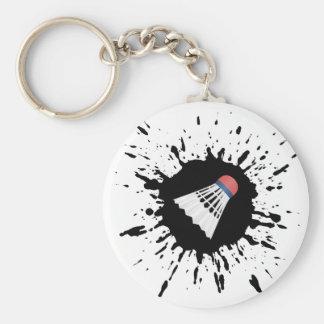 Porte-clés Explosion de badminton
